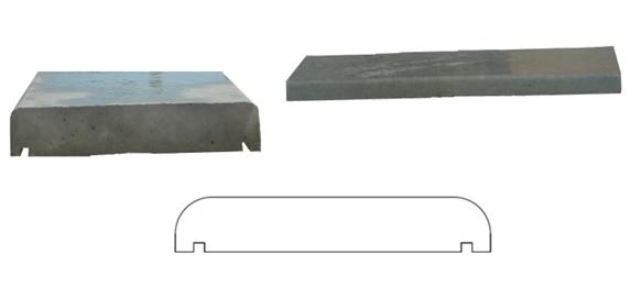 Manufatti cemento marchetti for Coprimuro prezzi